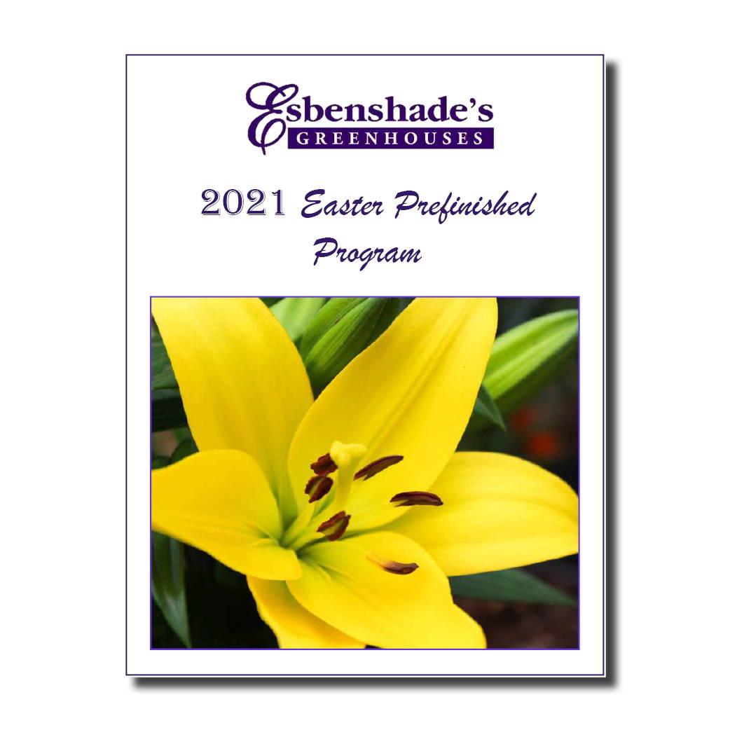 Esbenshade's 2021 Easter Prefinished Program