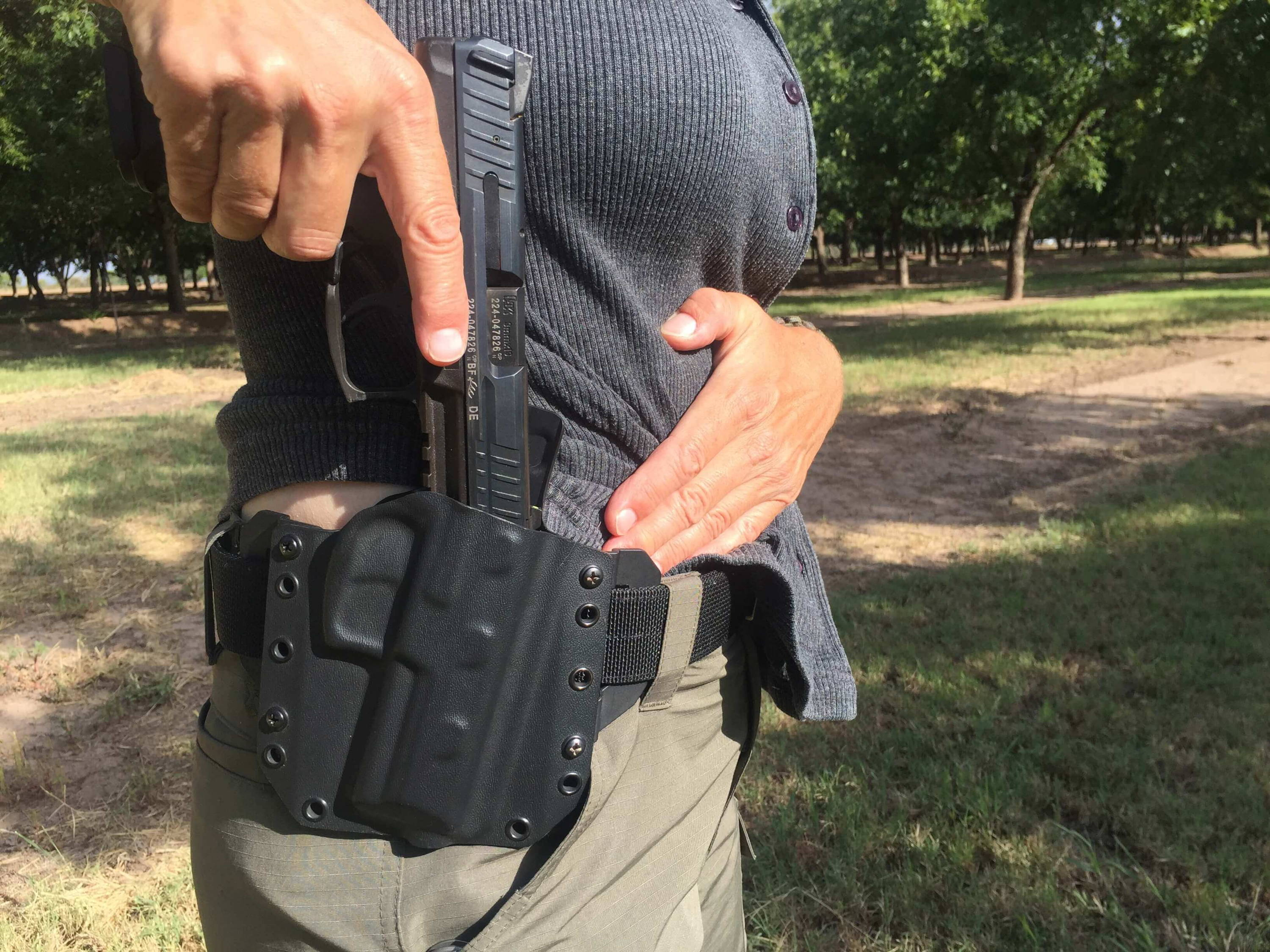 HK VP9 OWB Carry Holster