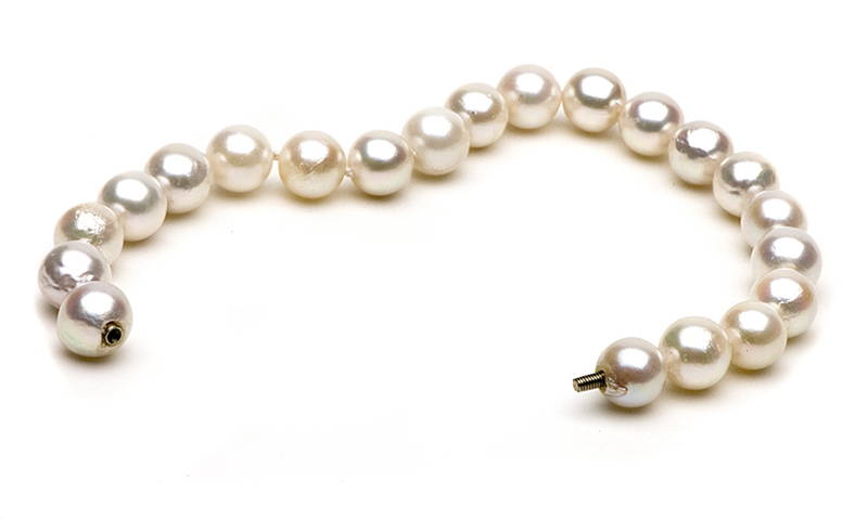 Akoya Bracelet Low Quality Pearl Blemishing