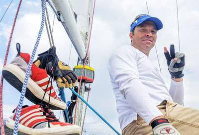 Global CBD Owner and Founder Joel Bordeaux Sailing For Charity