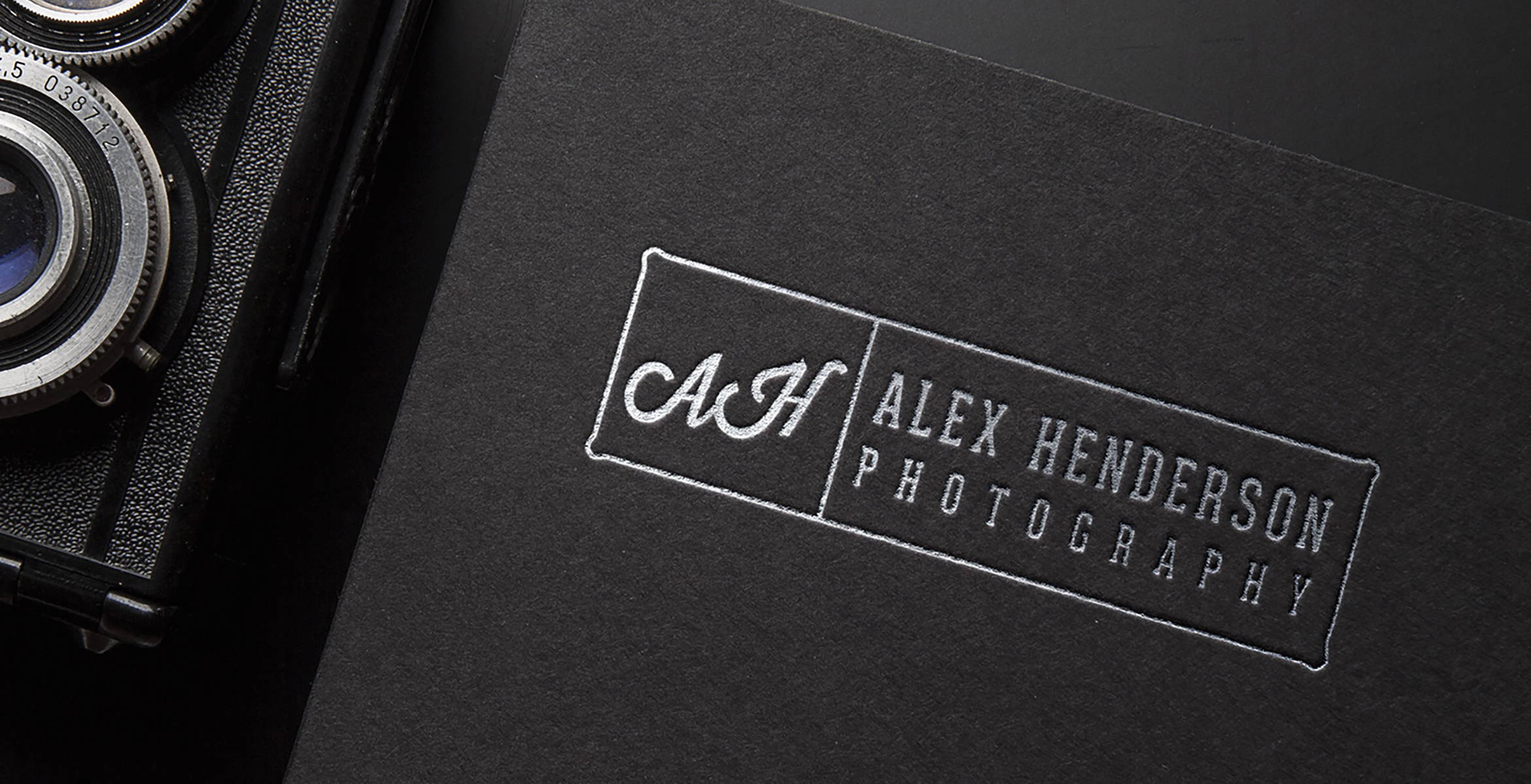 Debossed silver foil-stamping | Premium printing by Blank Sheet