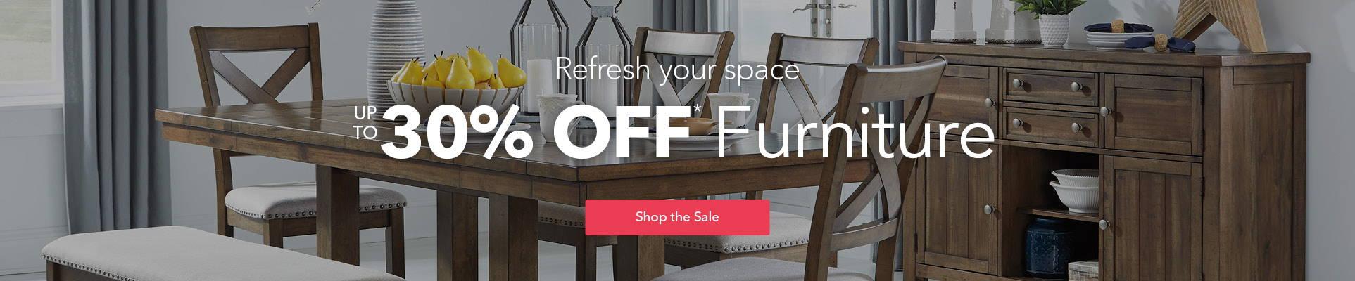Image of furniture sale banner