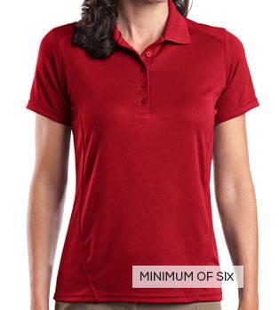 Sport-Tek Ladies Dry Zone Raglan Accent Sport Shirt