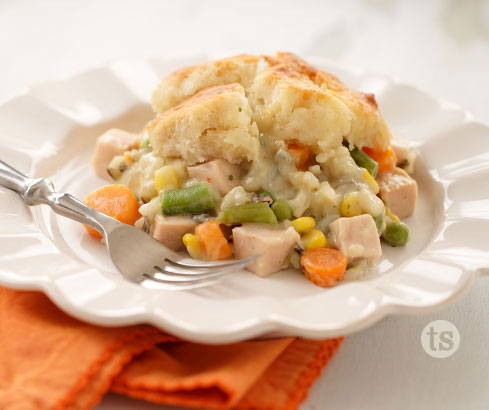turkey wild rice pot pie