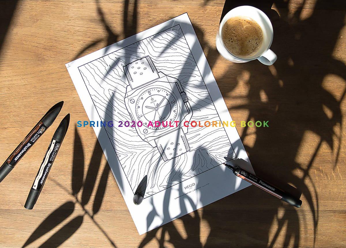 Hegid TEMPS LIBRE - Cahier de coloriage