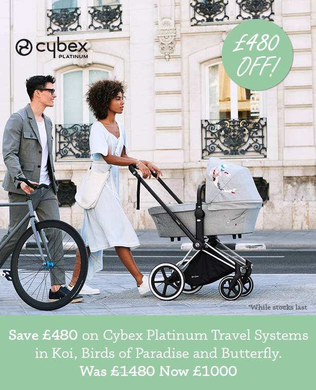 £480 off Cybex Platinum Travel Systems