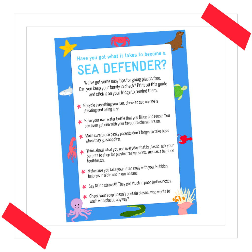 Sea Defenders Printable