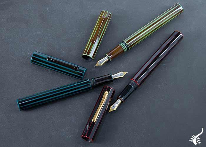 Taccia Koku-Tate fountain pens