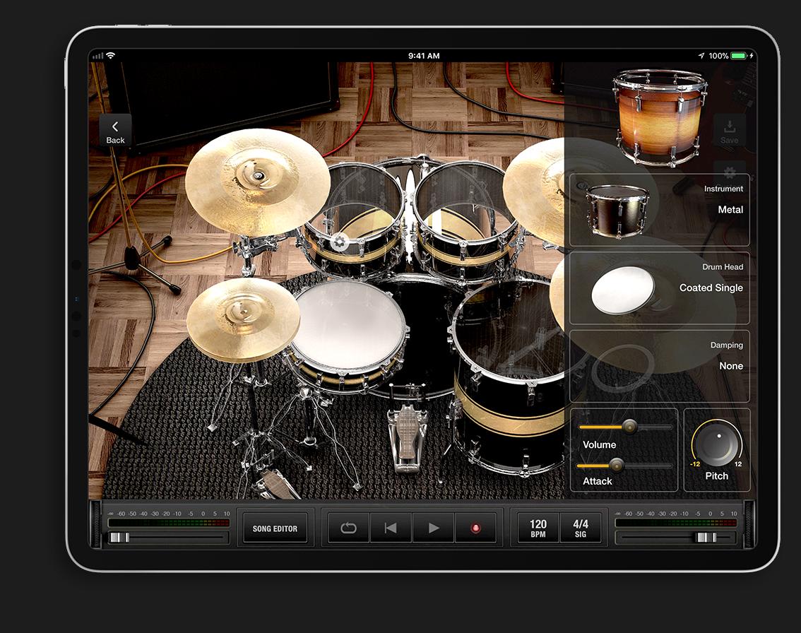 X drummer app for ipad