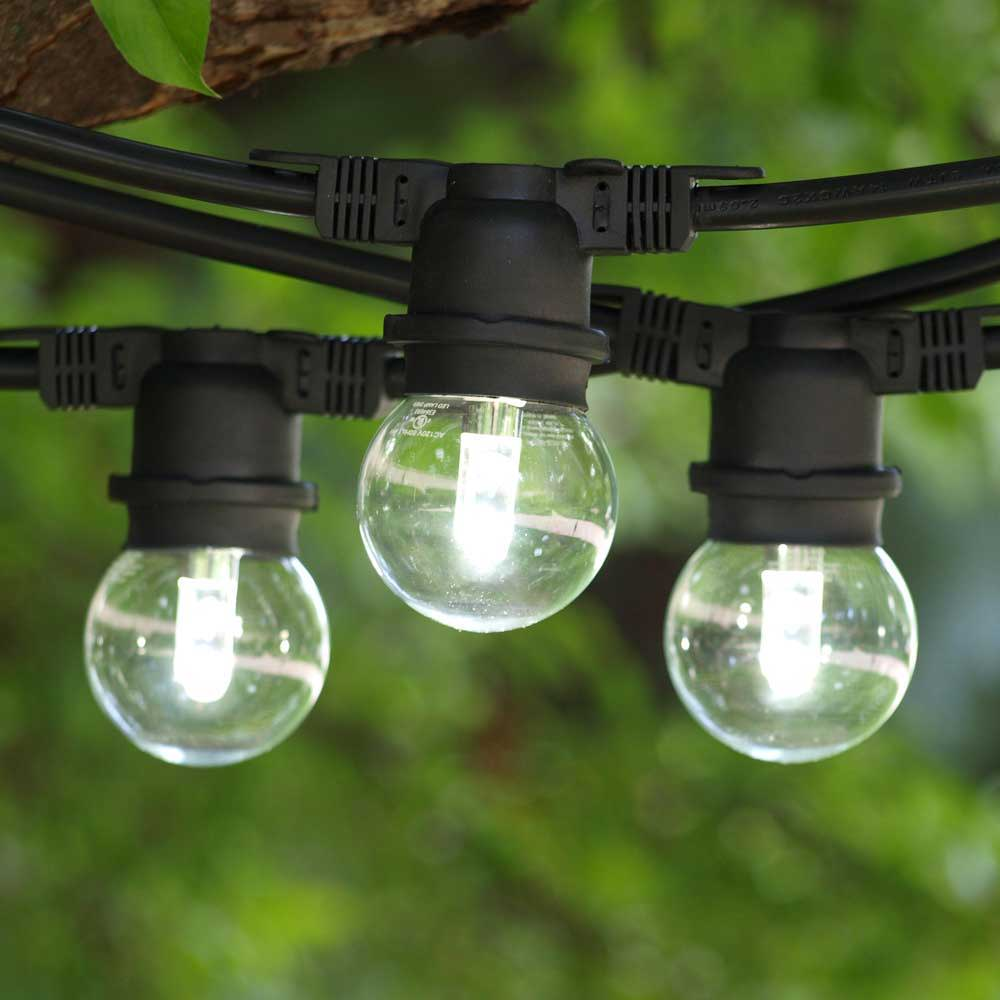 Cool White LED String Lights