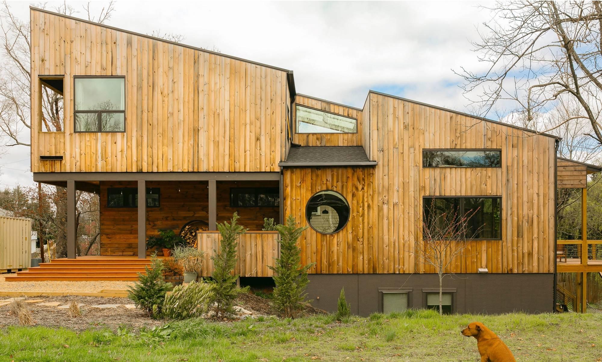 Modern home in Ashville North Carolina