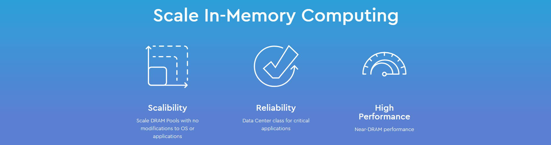 Scale In-Memory Computing