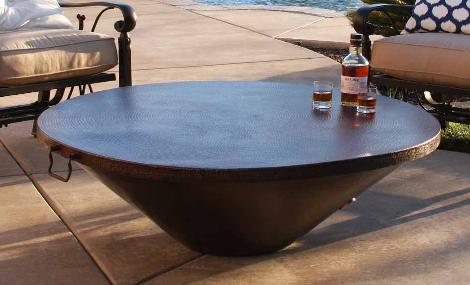 Wondrous Moreno Series Copper Fire Pits Starfire Direct Download Free Architecture Designs Grimeyleaguecom
