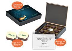 Diwali gift boxes (9 Chocolates - 100 Box)