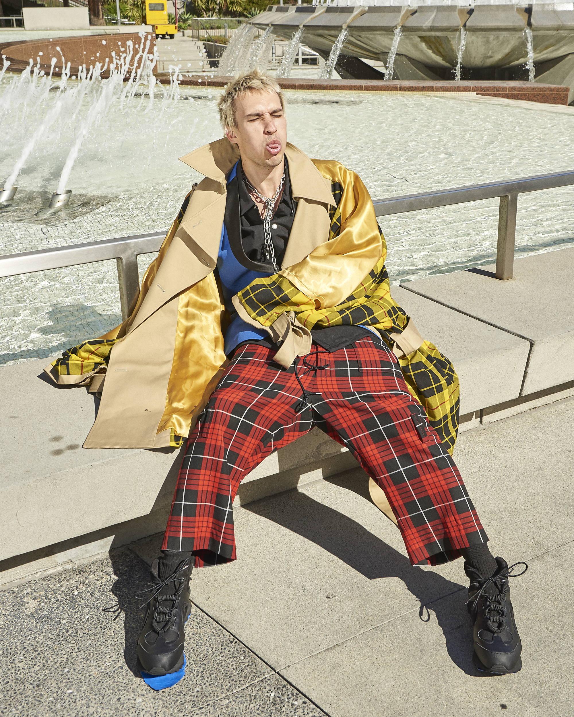 Kidill Punk Trench Coat F/W18 - Hlorenzo