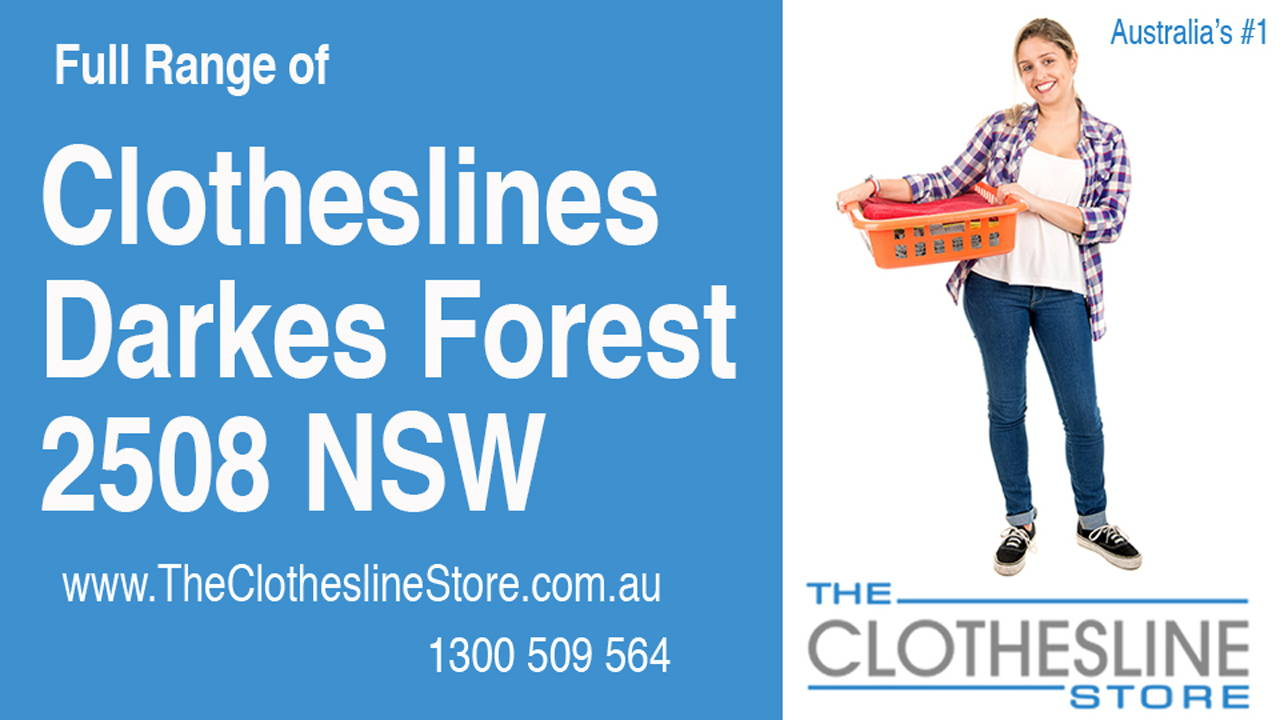 New Clotheslines in Darkes Forest 2508 NSW