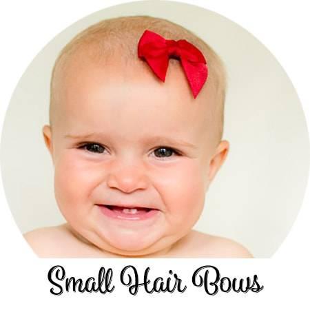 Felt Bows Felt Mini Latch Hair Bow Wispy Baby Bows for Fine Hair Baby Hair Bows Infant Snap Clip Bow Barrettes