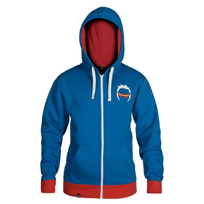 Product image of Overwatch Ultimate Soldier 76 Zip-Up Hoodie