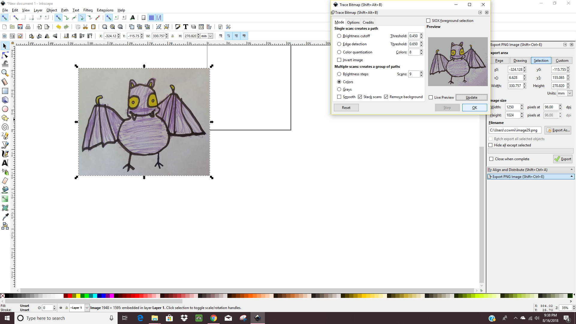 How to make a doodle into a cut file!