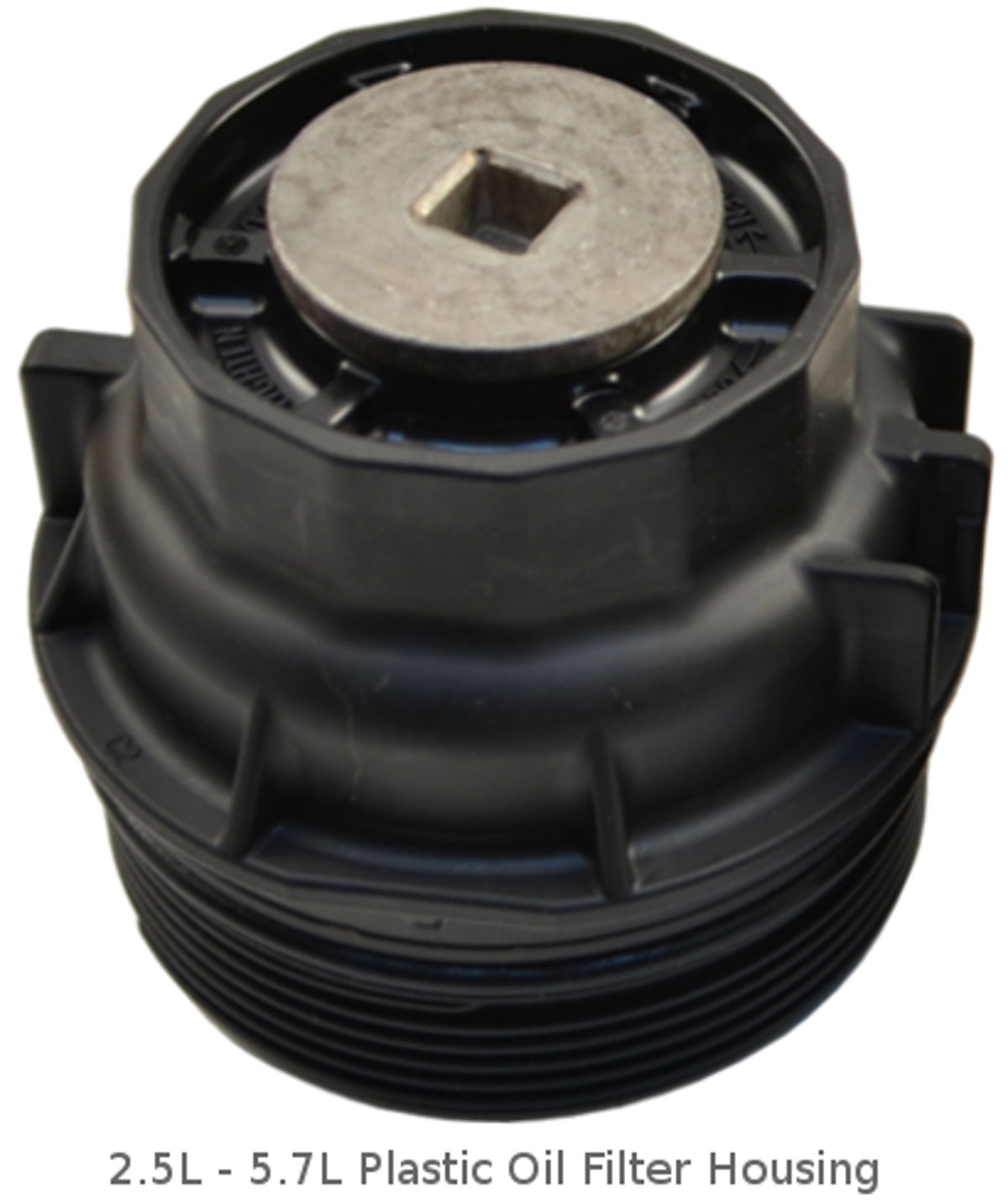 2.5L - 5.7L toyota plastic oil filter housing