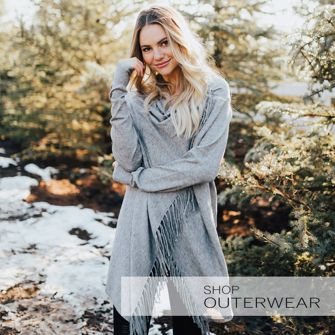 Shop outerwear, boutique winter clothes, online boutiques