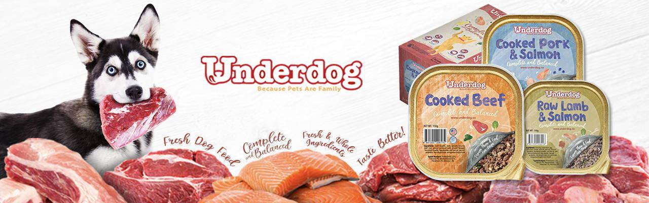 underdog fresh dog food & treats pawpy kisses pet shop
