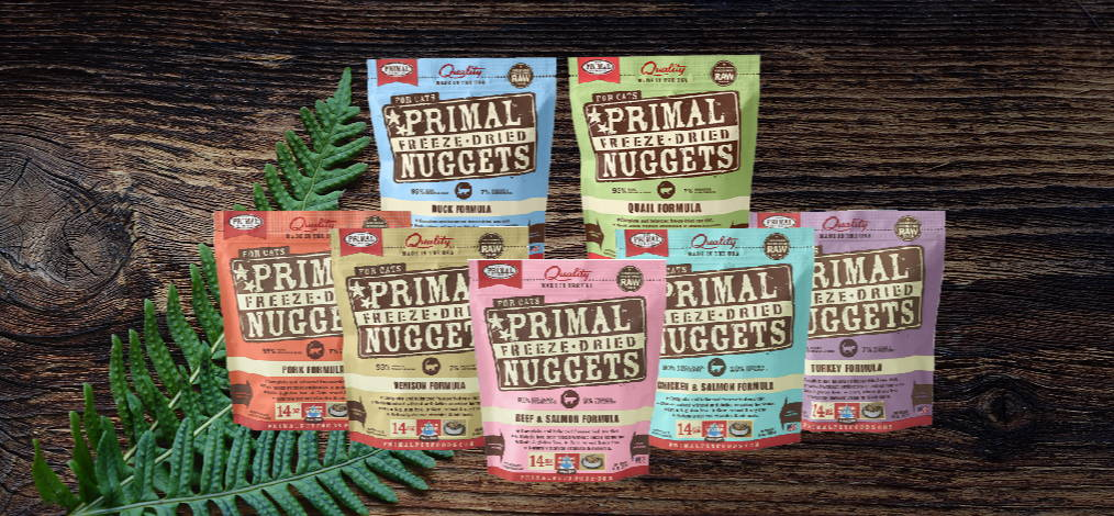 Primal Freeze Dried Cat formulas
