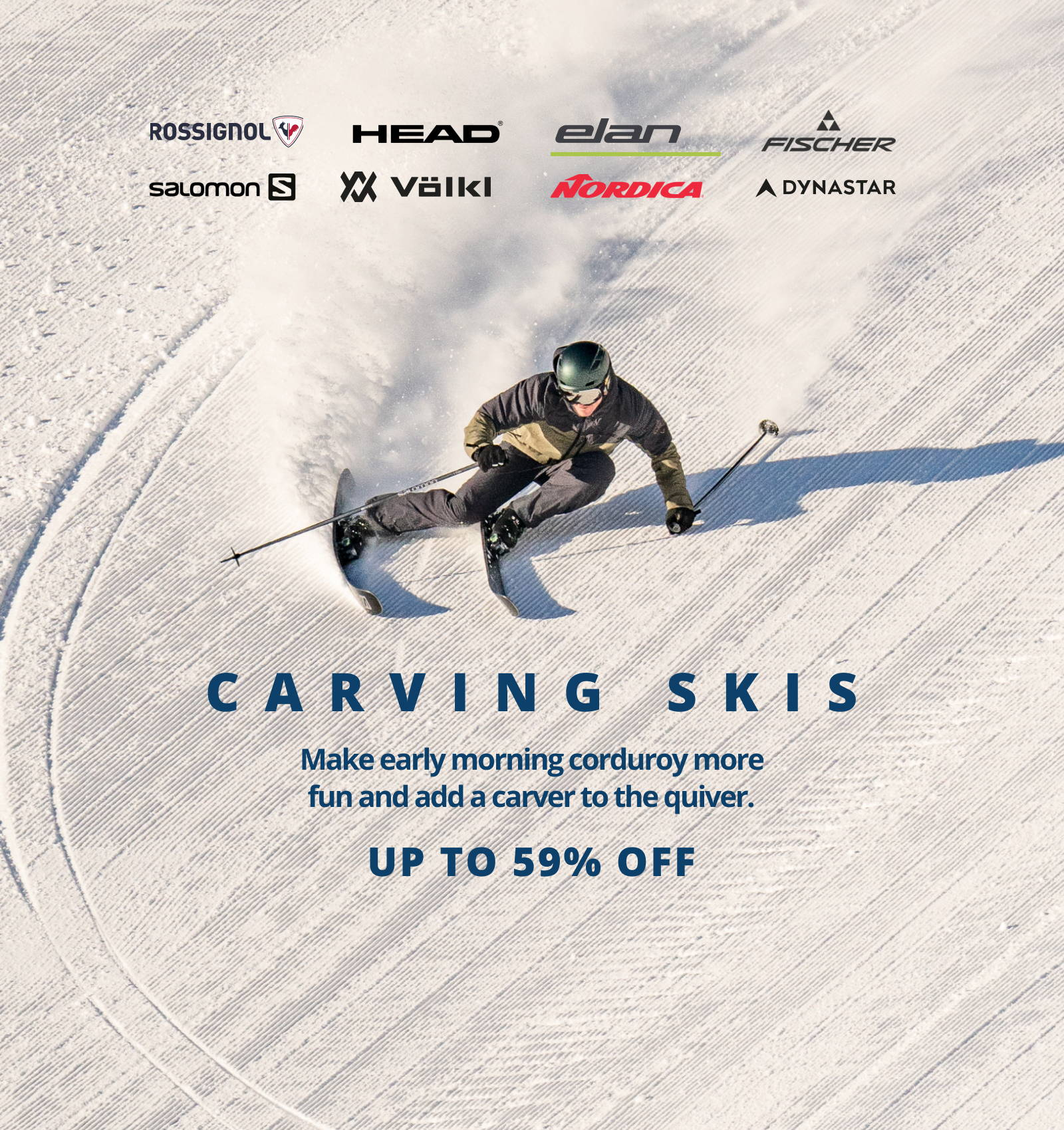 Carving Skis