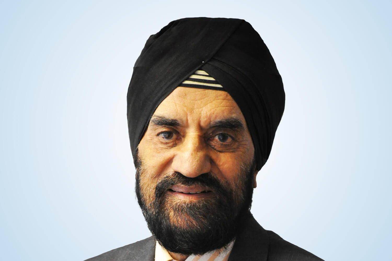 Image Of Professor Kartar Lalvani OBE