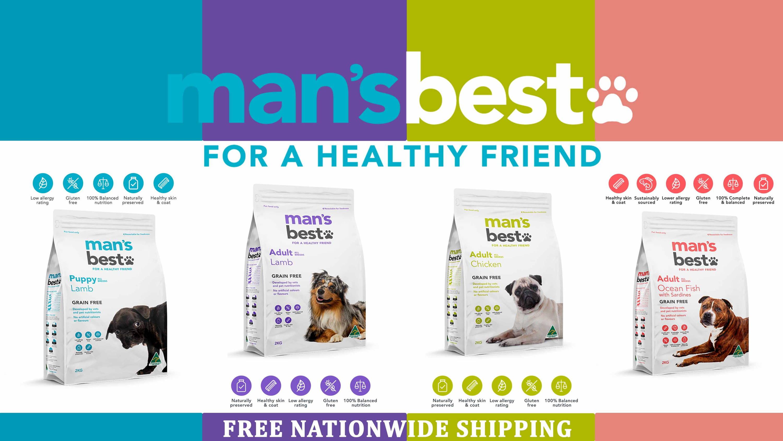 Man's Best Adult All Breed - Pet Food Leaders