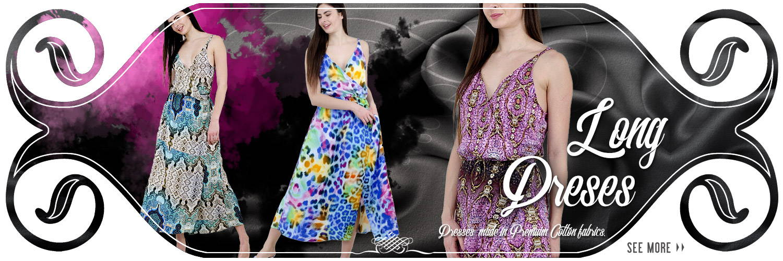 Fine Cotton maxi style Dresses.