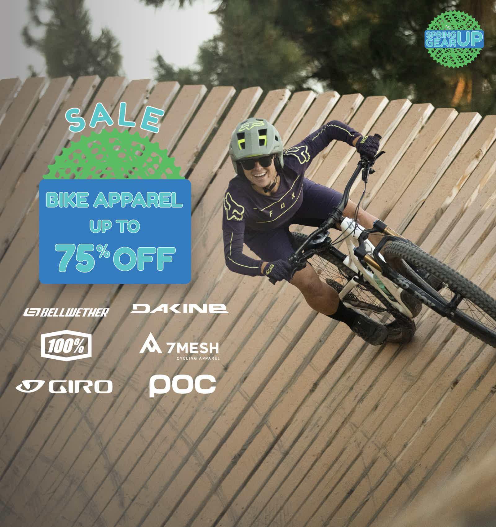 Bike Apparel Sale