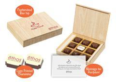 Diwali gift ideas for clients (9 Chocolates - 100 Box)