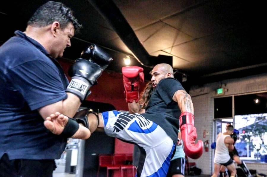kickboxing muay thai class