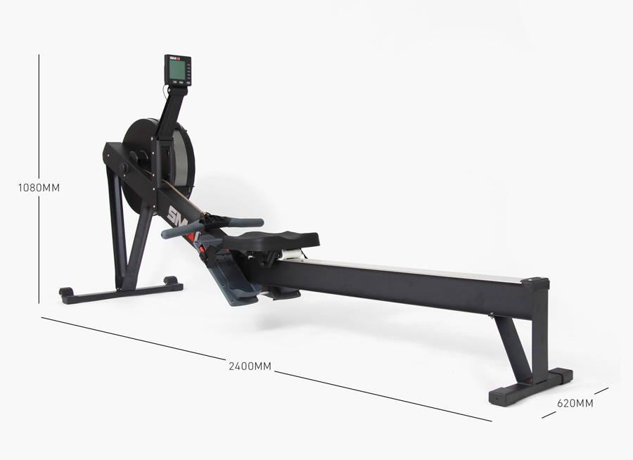 SMAI Air Rower Machine Dimensions