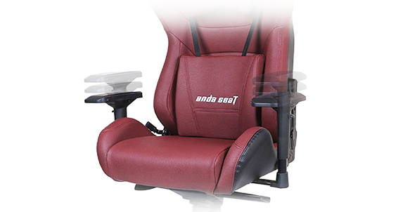 4D Adjustable armrests