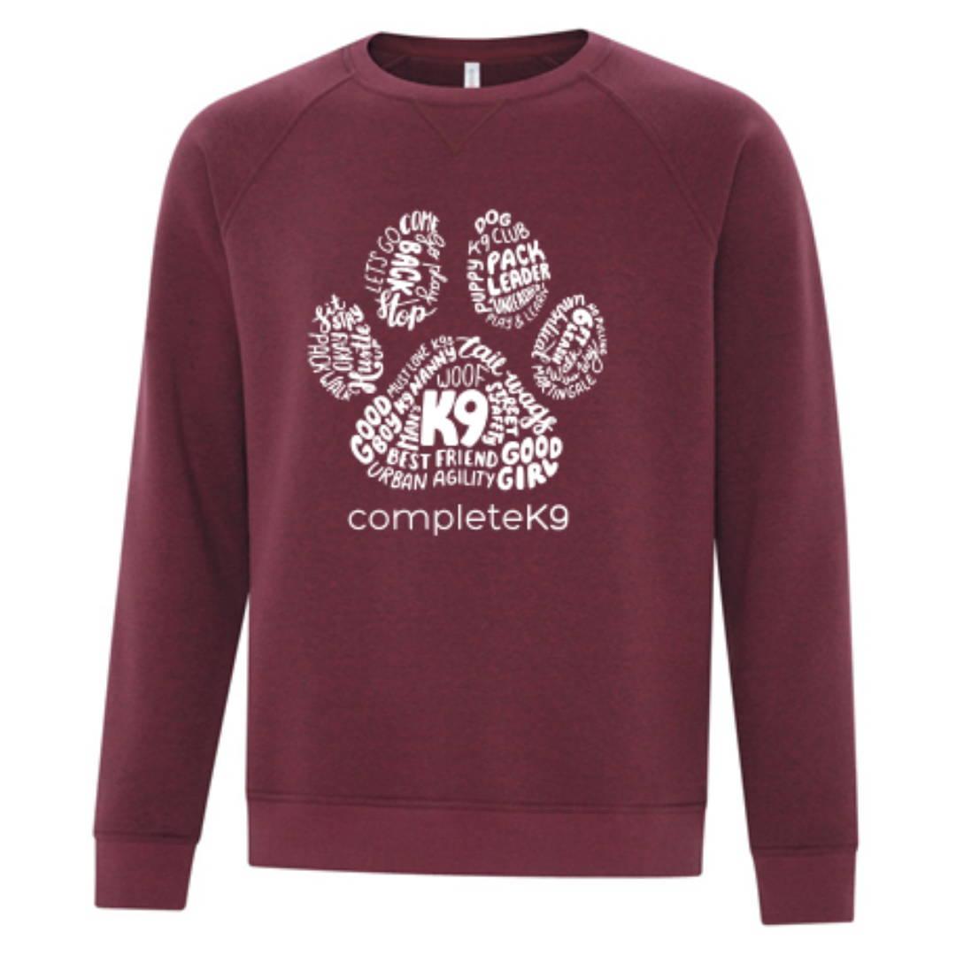 Custom Crew Neck Sweater Example 1