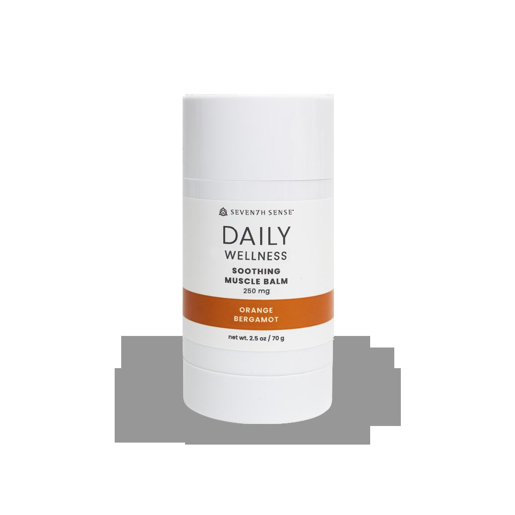 250mg Soothing Muscle Balm Orange Bergamot