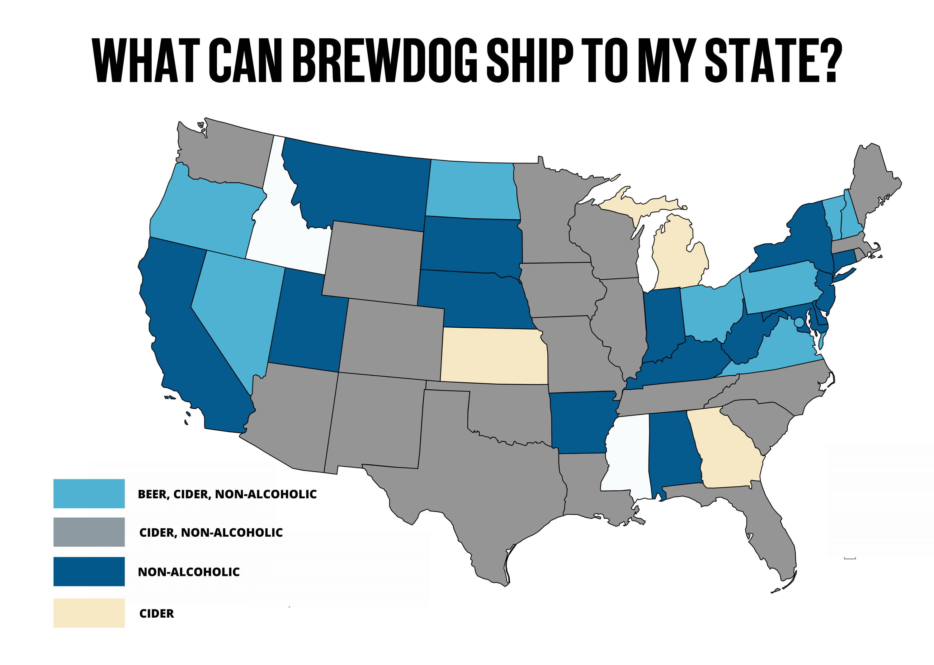 What can brewdog ship to my state?