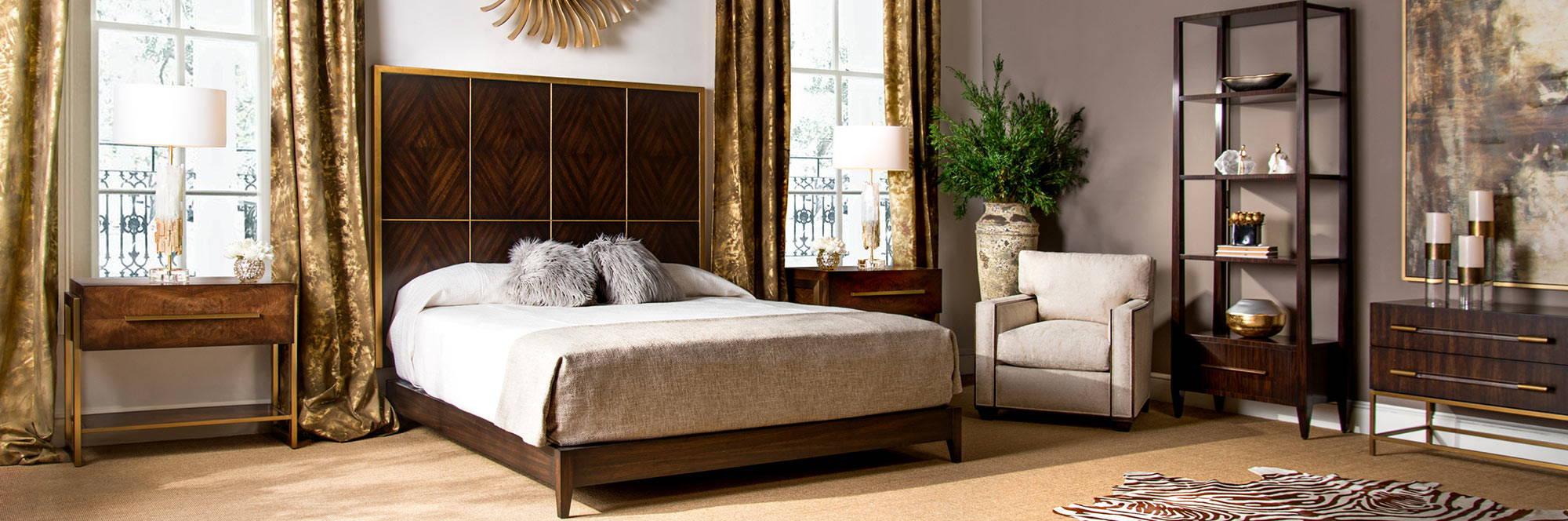 John-Richard Furniture & Home Accessories - Bedroom Scheme - LuxDeco.com