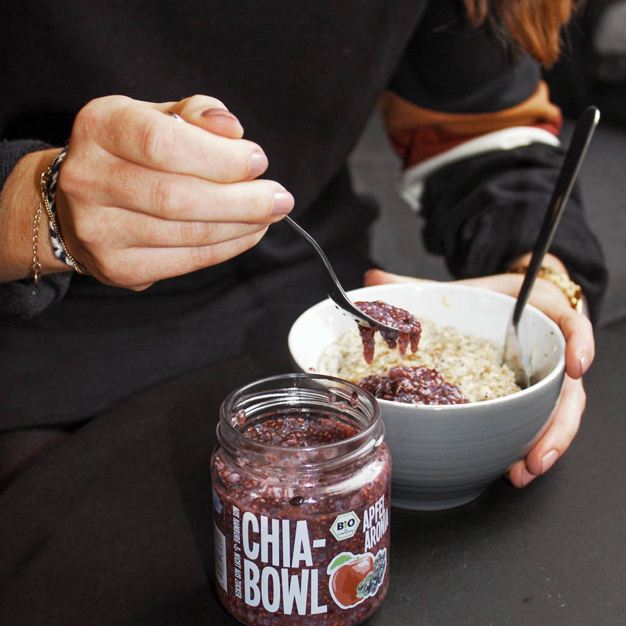 Chia Bowl als Topping