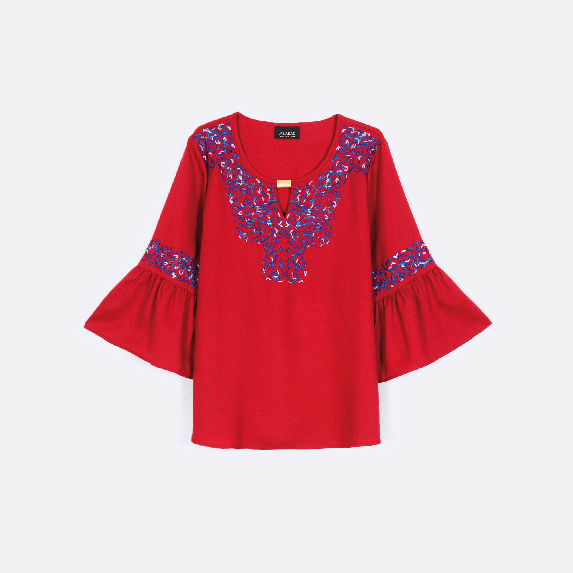 MS. READ Embroidered Top