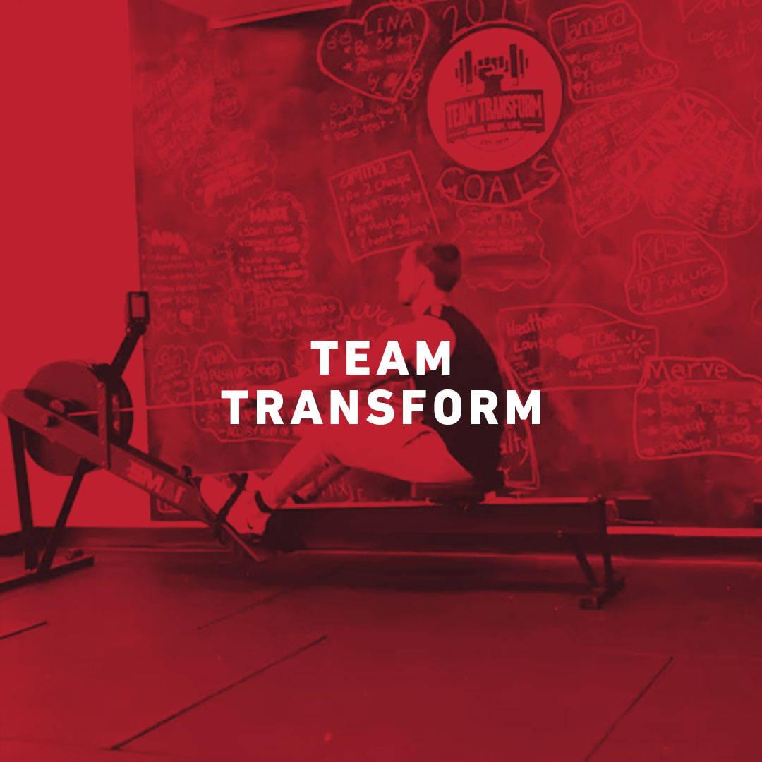 Air Rower Team Transform