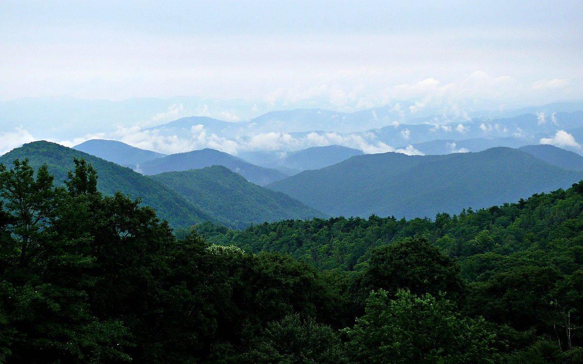 420 Hiking in Blue Ridge Mountains Virginia