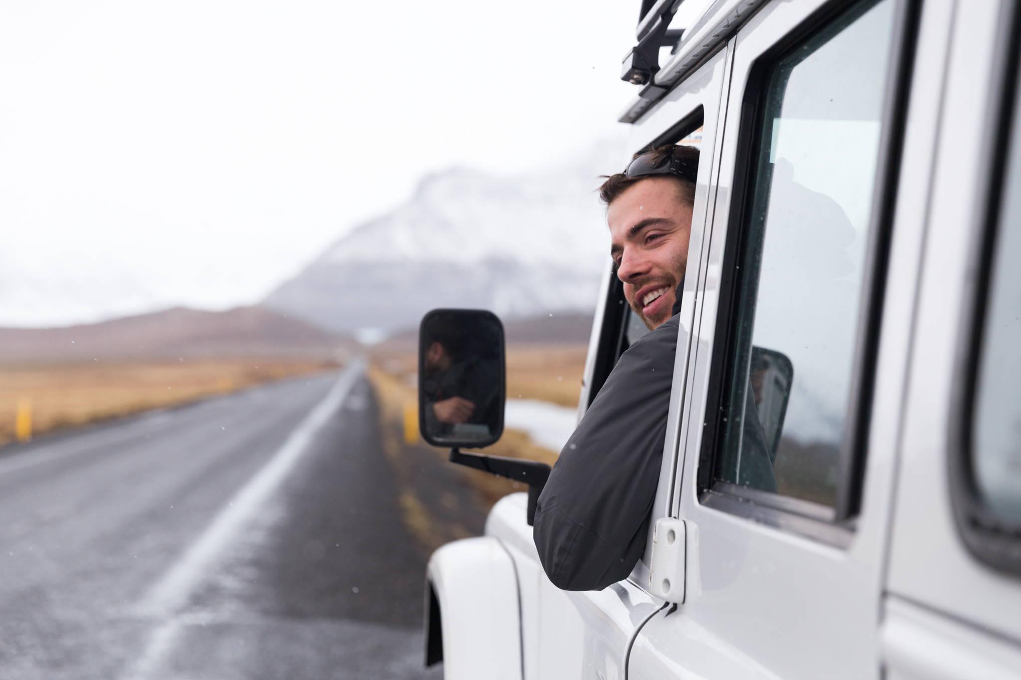 Alex in Iceland