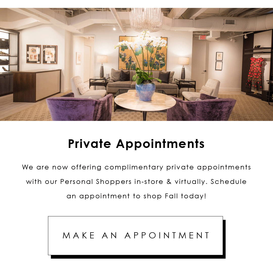 Private Appointments Available