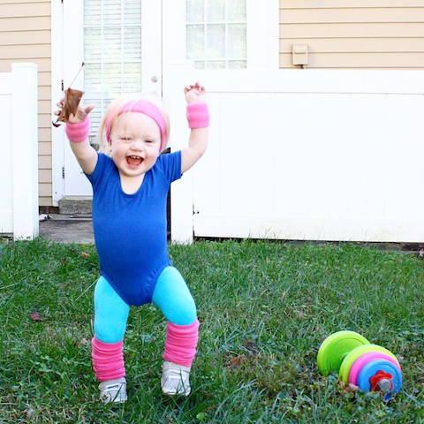 Aerobics Halloween Costume