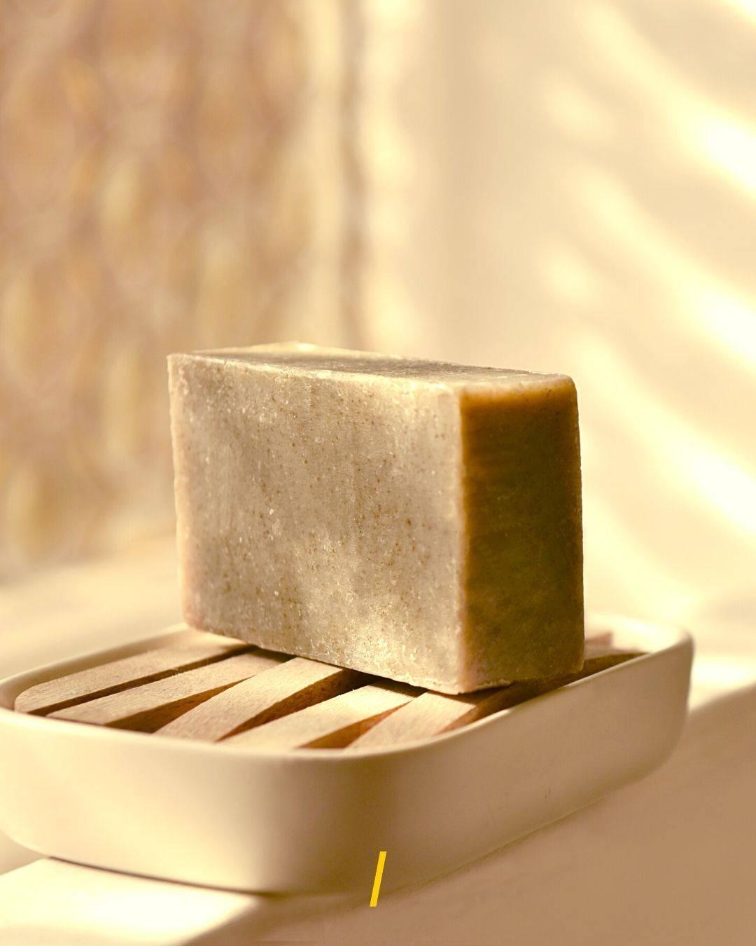 Le savon solide - Peau mixte