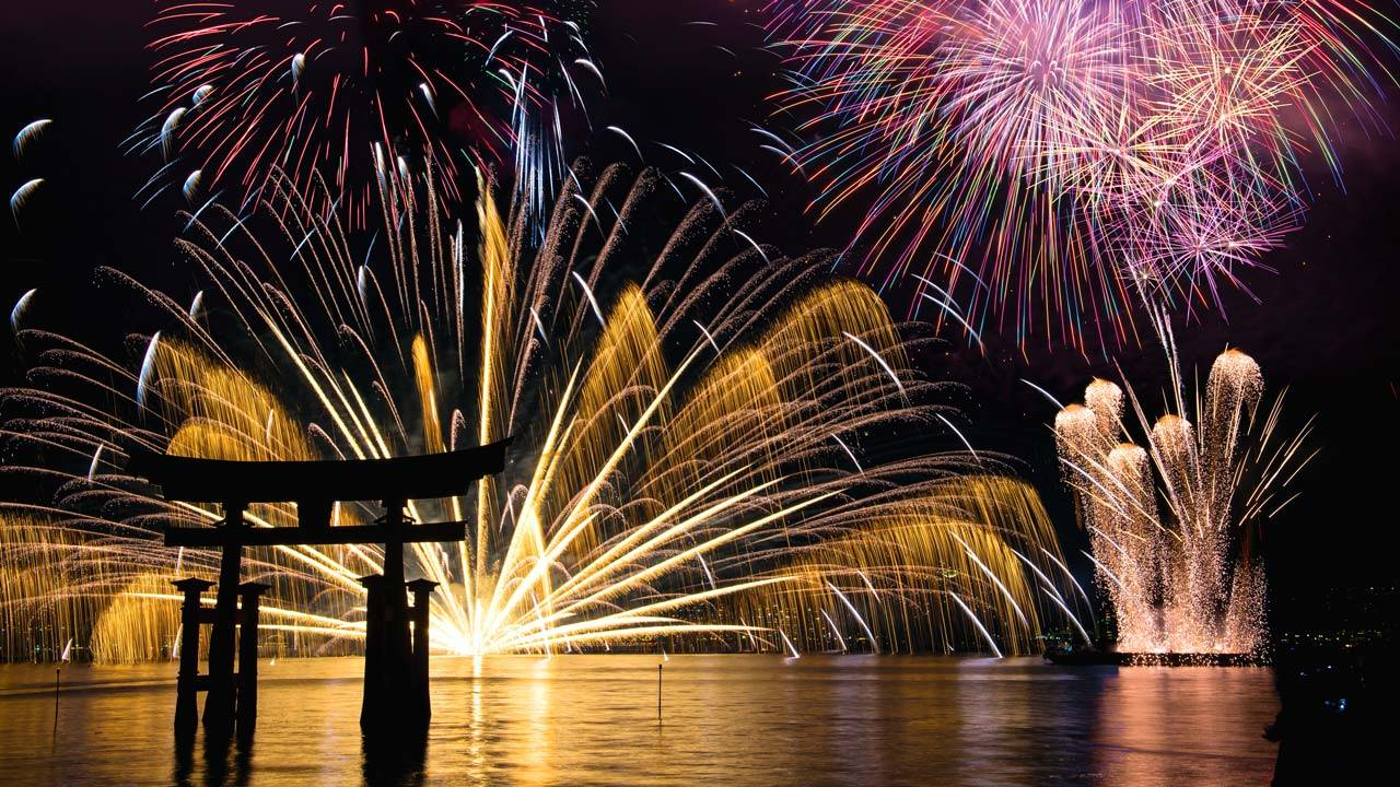Jpaanese Fireworks Festival