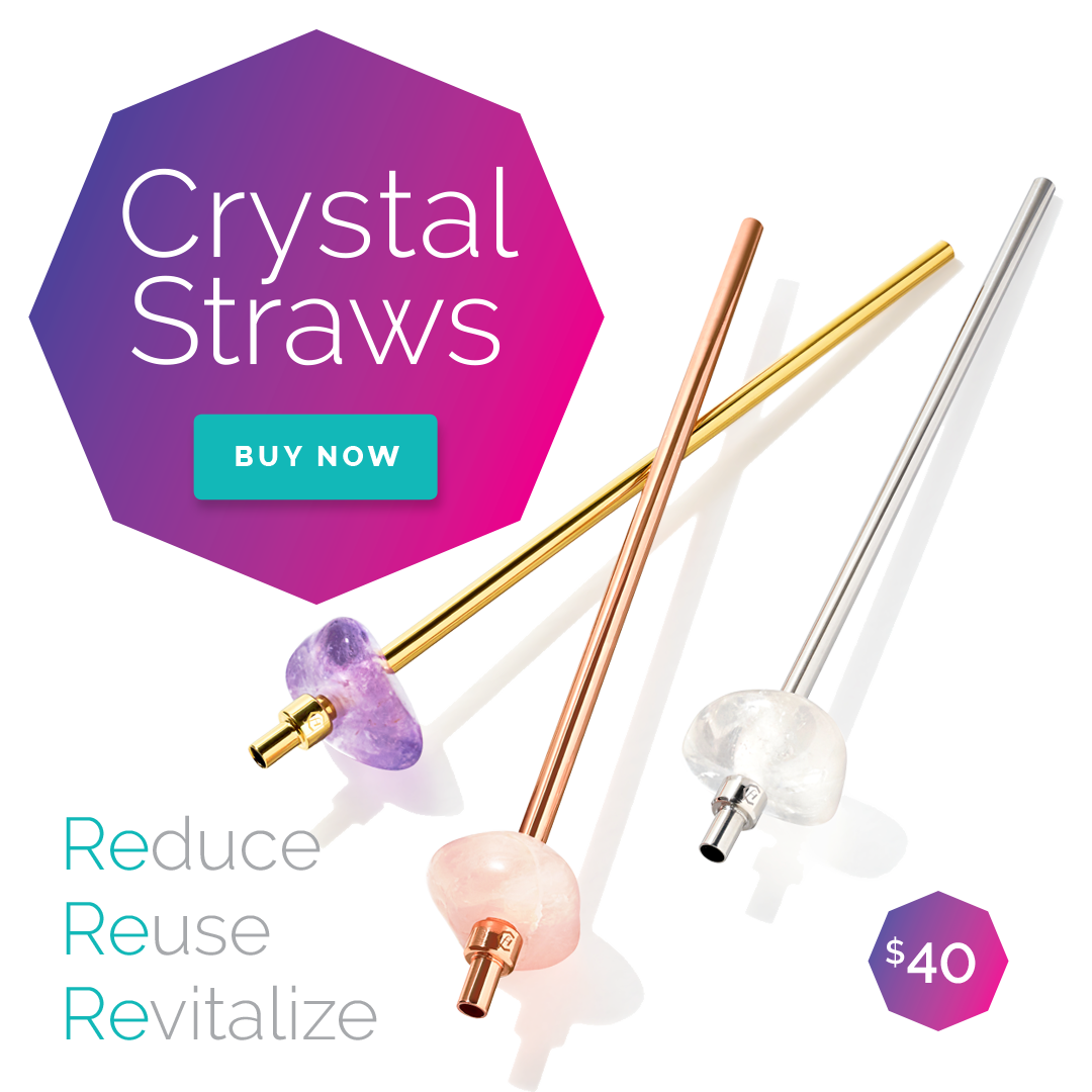 Reusable Crystal Straws